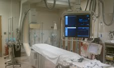 A typical Cardiac Cath Lab procedure room
