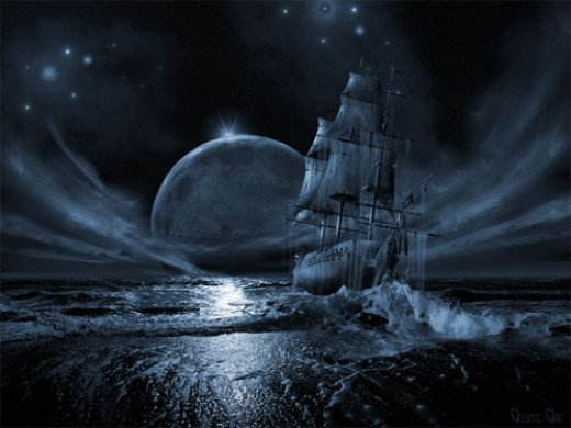 Ghost ship series: Full moon rising