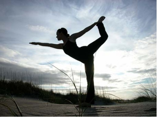Using yoga to boost endorphins
