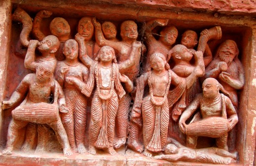 Dance with Kirtan; Dashghara