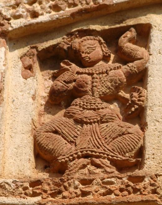 Gaudiya Nrittya; Shyam Ray temple, Vishnupur 3