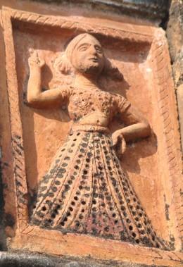 Dancer; Chandranath temple, hetampur