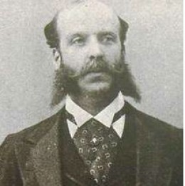 Alfred de Rothschild, commonly acknowledged as the father of Lady Almina, Countess of Carnarvon.