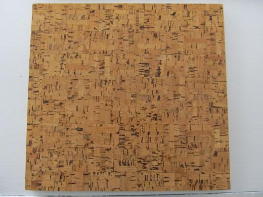 """12"""" x 12"""" Cork Tile"""