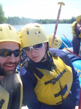 Travel for Two - White Water Rafting Ottawa River with my girlfriend