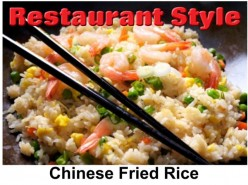 Restaurant Style Chinese Fried Rice