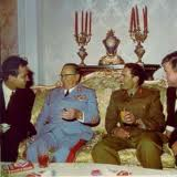 "Persident Marshall Josip Broz - Tito, in company of ""Gaddafi"" and other World Leaders of that time."