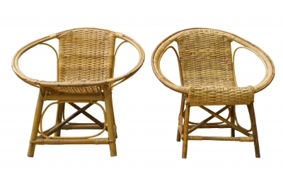 Rattan Chairs. Rattan is a natural and sustainable material.