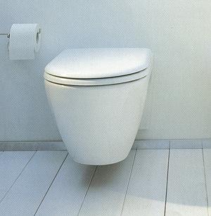 Duravit Starck 2 Wall Mounted Toilet