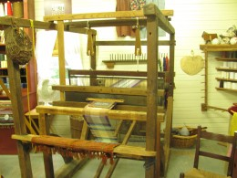 Weaver's loom, Furnace Town, Snow Hill, MD