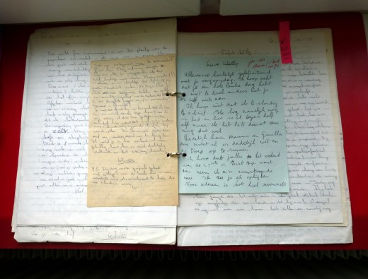 Collect old family documents like these love letters my parents wrote each other before getting married and DIGITIZE!!