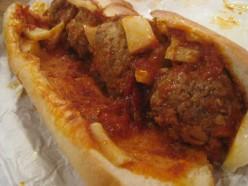 Sandwich: Meatball