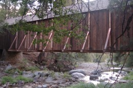 bridge near Wawona, Yosemite National Park