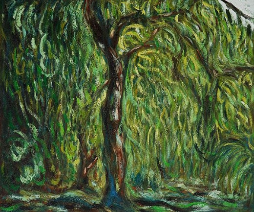 Weeping Willow By: Claude Monet