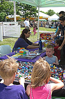 LEGOLAND booth invites young and old to play!