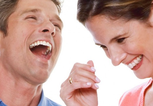 Laughing boosts endorphins