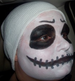 Jack Skellington Makeup and Tutorials