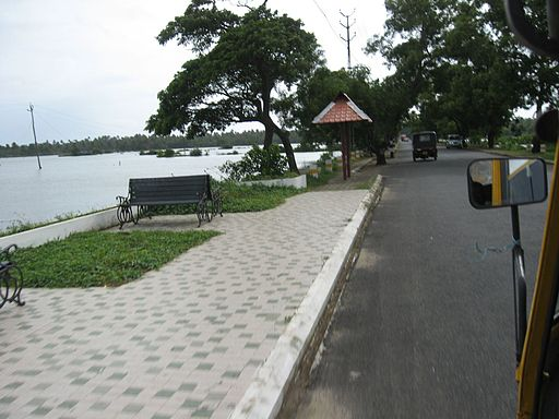 Route to Cherai beach from North Paravur