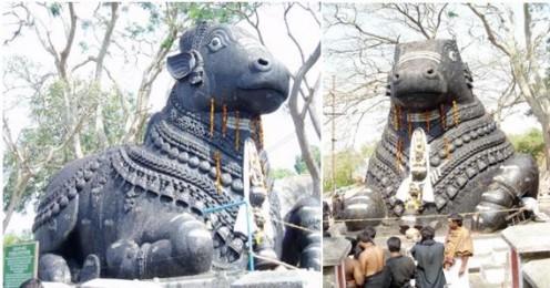 The Bull temple of Mysore