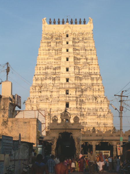 Ramanatha Swamy Temple outlook