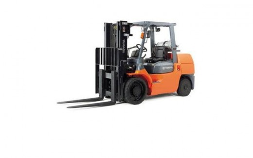 Connecting propane cylinders to your forklift
