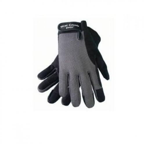 Charcoal Mens garden Glove