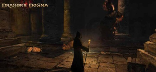Dragon's Dogma get key to lower levels of the ruins and find the altar slates