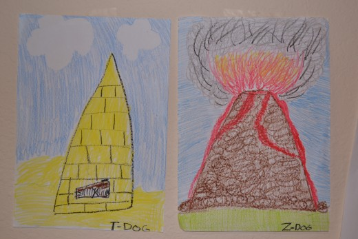 Entry with most use of crayons