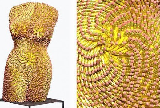 This artist has a serious eraser obsession!