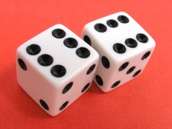 Life Lesson's Poetry: The Toss of the Dice