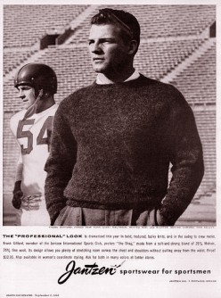 "FRANK GIFFORD ""Nice run by number 10."""