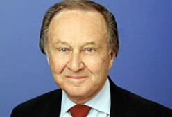 THE LATE JIM MCKAY voice of ABC's Wide World of Sports and Olympics.