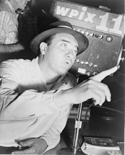"MEL ALLEN IN 1955. ""How about that?"""