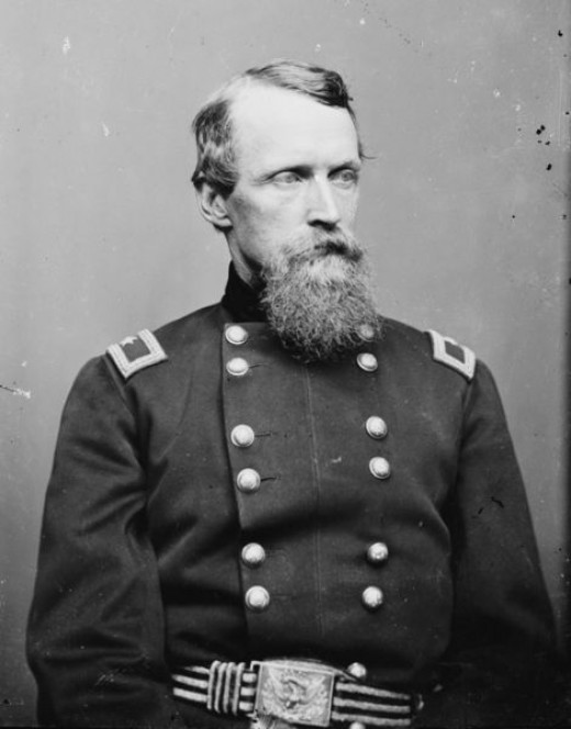 General David Birney, leader of the Third Division of the Second Corps