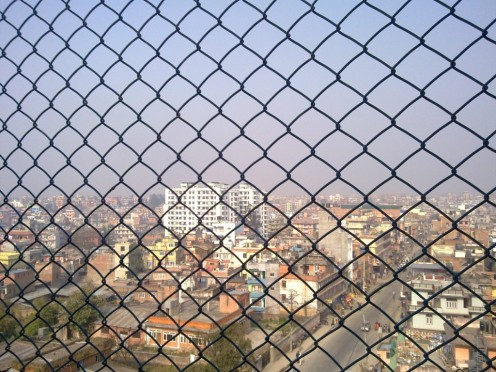 Kathmandu through my balcony