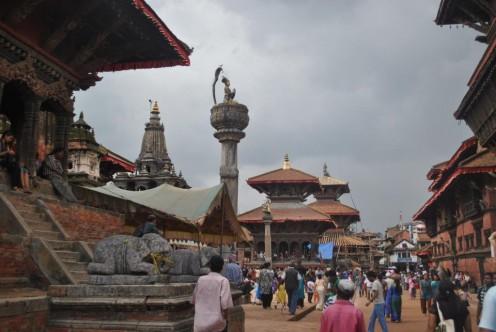 Old Royal Palace in Kathmandu