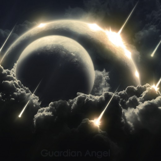 Angels as balls of light!.