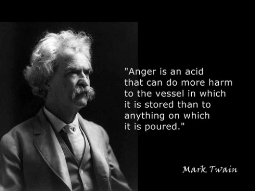 Mark Twain on Anger from eman8888 Source: flickr.com