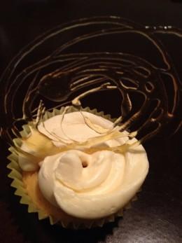 Triple Salted Caramel Cupcake