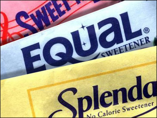 pic of artificial sweeteners