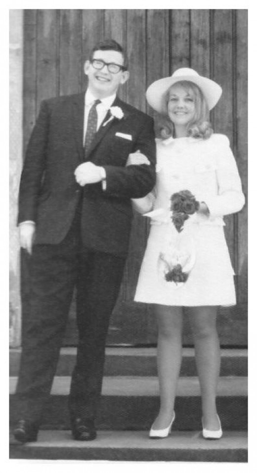 A very late 60's wedding