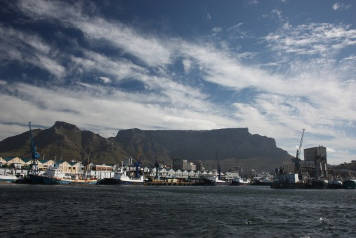 Table Mountain - one of the new 7 Wonders of the Natural World