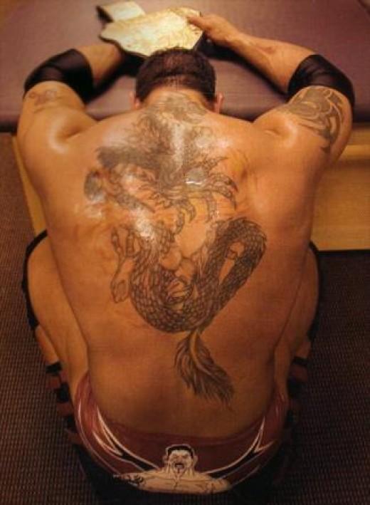 Tattoos of wwe superstars for Rey mysterio tattoos