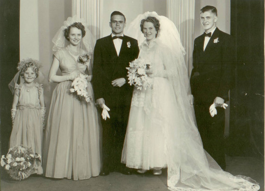 31 March 1956 - Flip Coetser & Wilma Pieterse © MCJCP