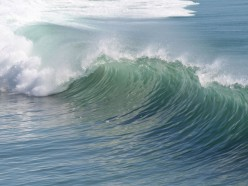 Great Body Surfing Wave
