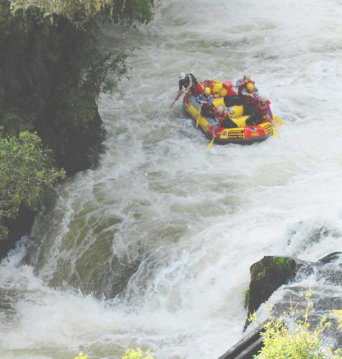 River rafting requires intense focus and trust. It's a great way to get in the flow.