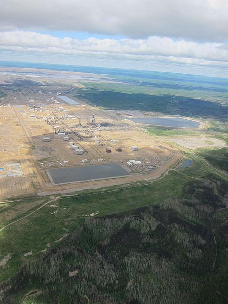 Oil sands in Alberta, Canada