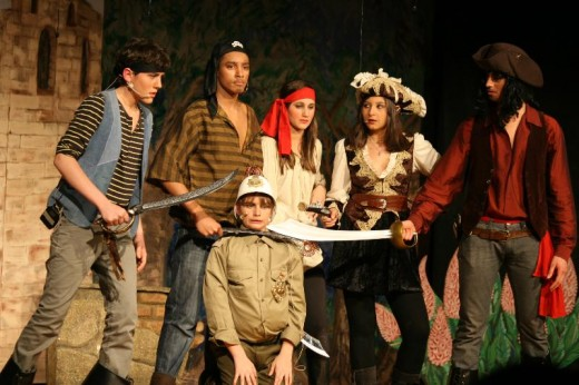 This is an American School of Milan production of Pirates of Penzance. The photograph was taken by Sreiach April 10, 2010.