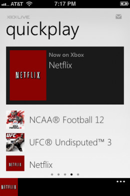 You can also use the controller to navigate some apps, such as Netflix.