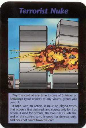 """The Twin Towers being nuked.  Many eye-witnesses described the """"passenger planes"""" as being missiles.  Who is the violent group that is controlled by the Illuminati? Al Qaeda?"""